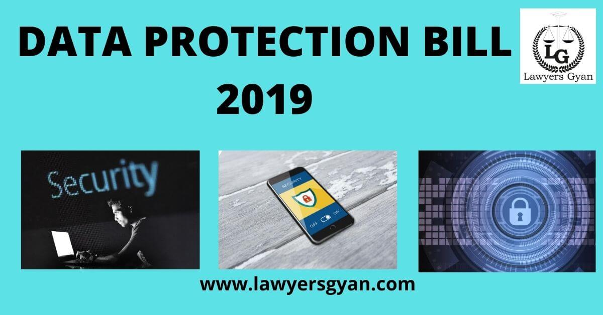 Data Protection Bill 2019: An Analysis