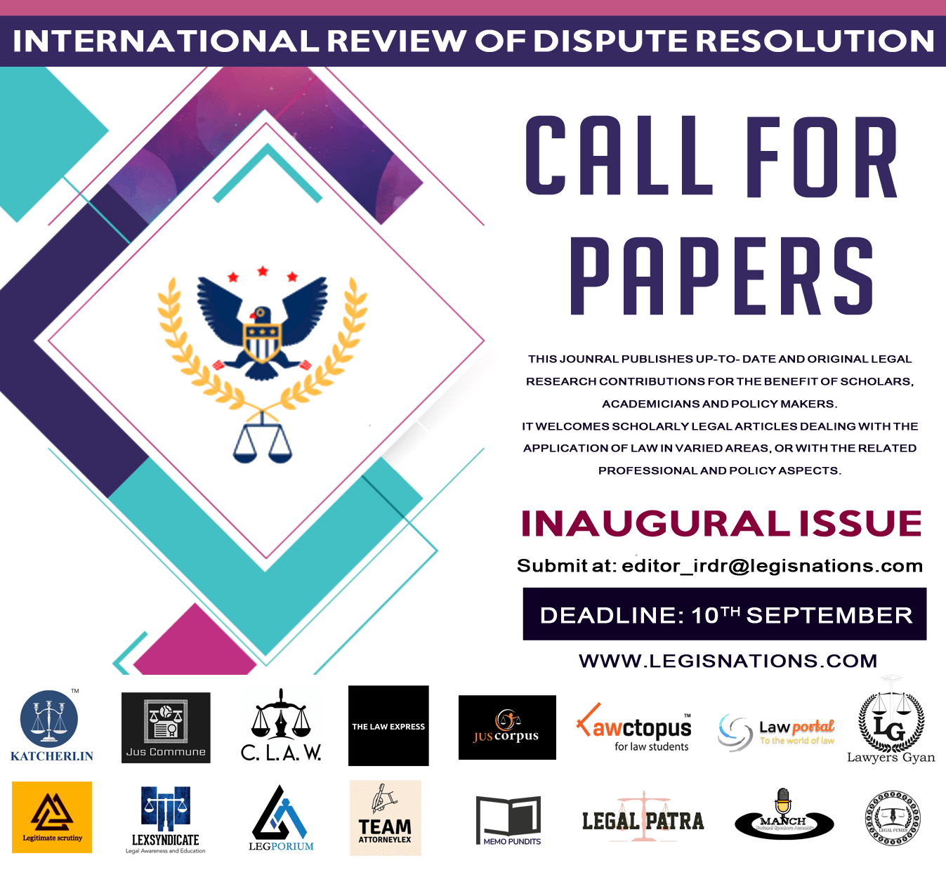 INTERNATIONAL REVIEW OF DISPUTE RESOLUTION