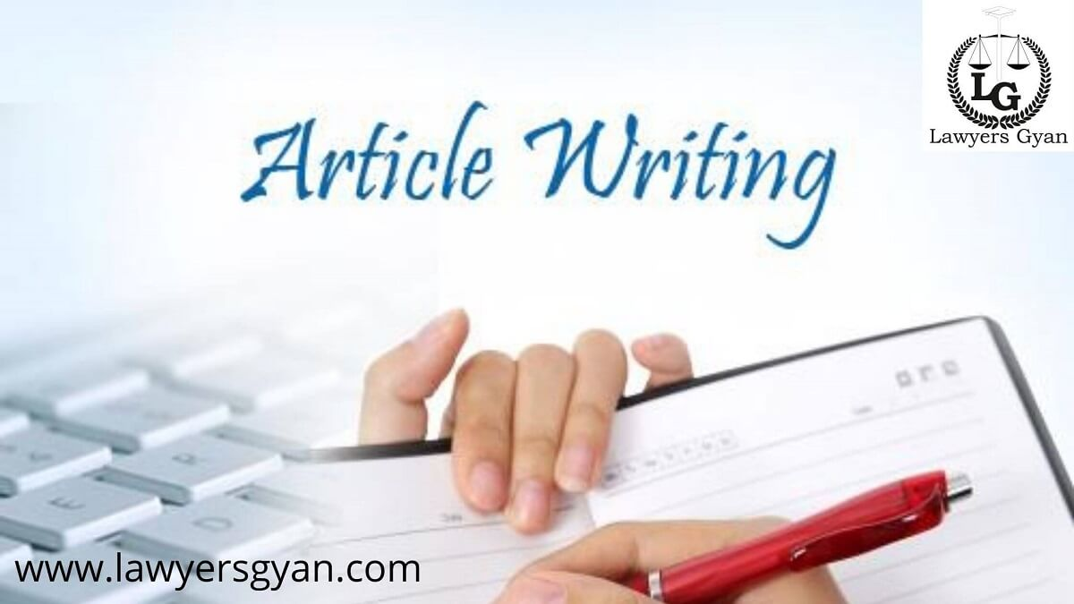 Decode Law Article Writing