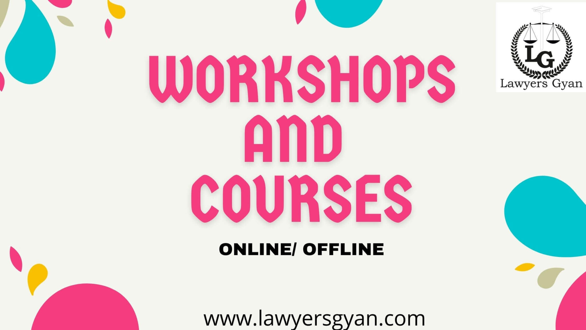 WORKSHOPS COURSES