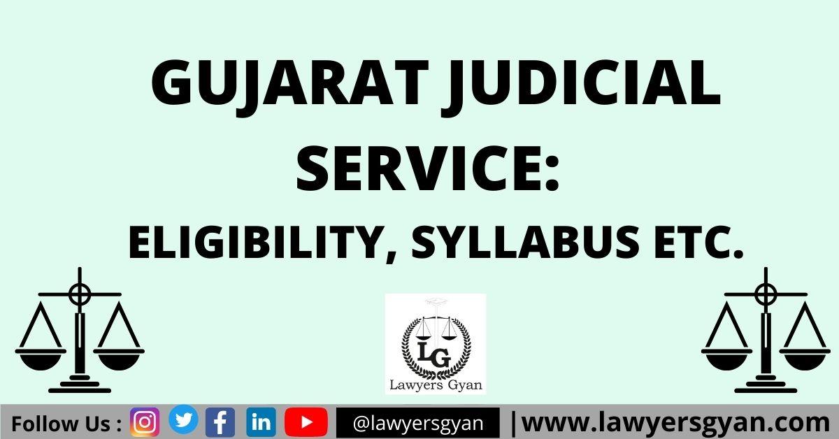 Gujarat Judicial Service