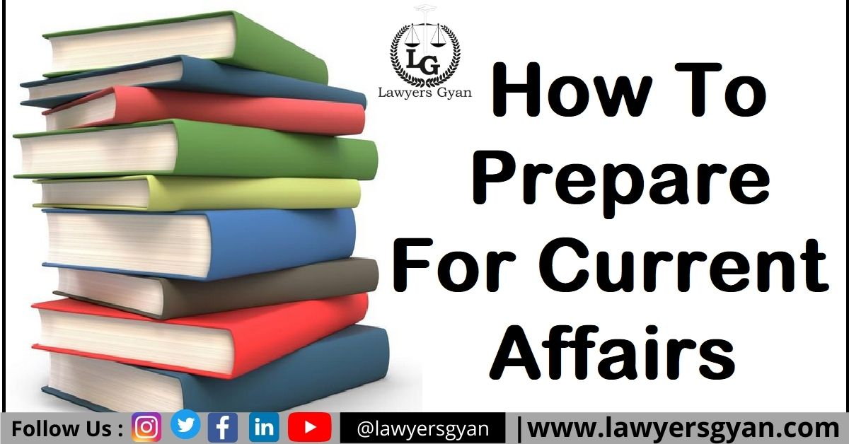 How to Prepare for Current Affairs