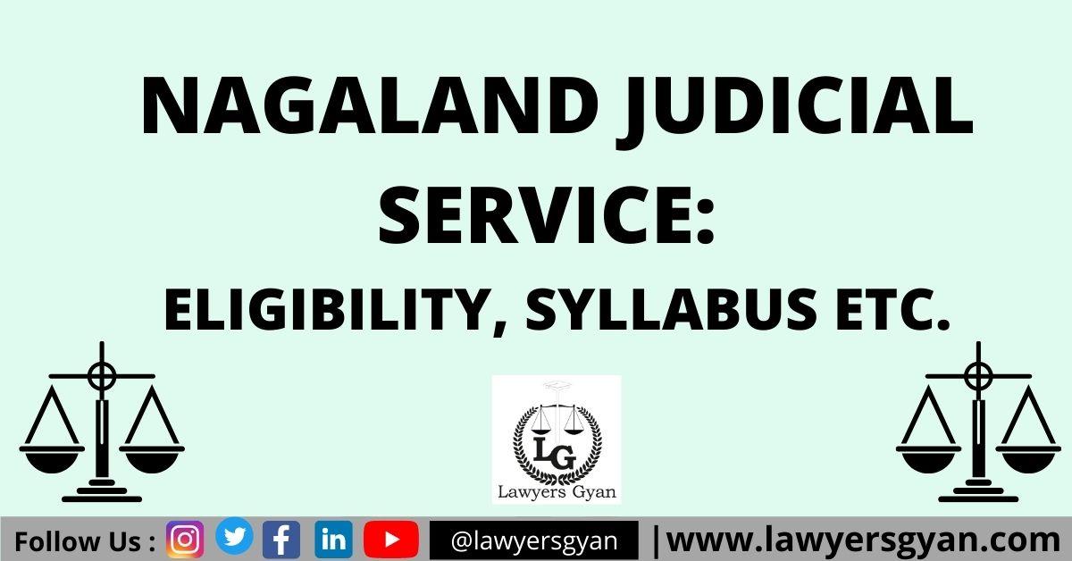 Nagaland Judicial Service