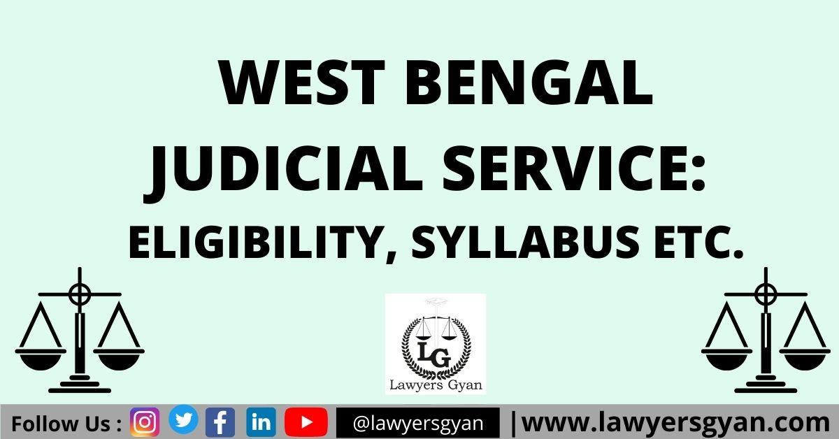 West Bengal Judicial Service