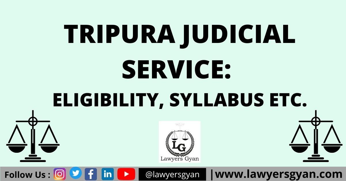 Tripura Judicial Service