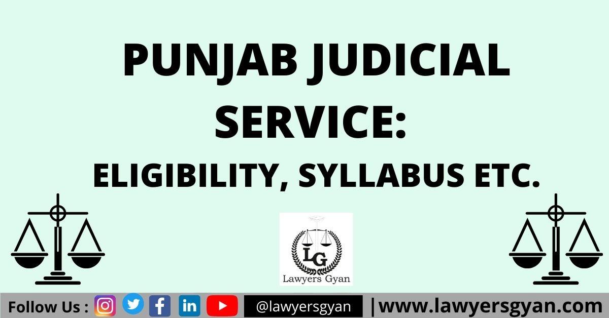 Punjab Judicial Service