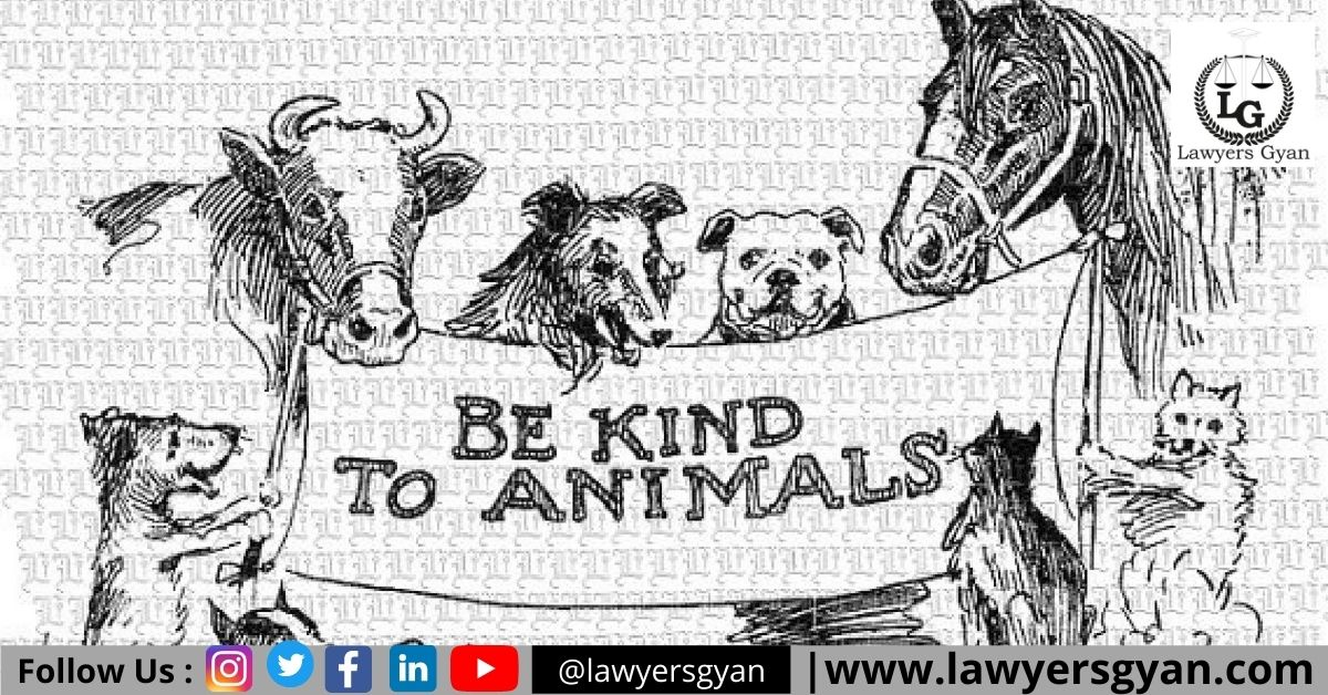 LEGAL RIGHTS OF ANIMALS AGAINST CRUELTY