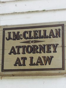 Attorney John McClellan, who was admitted to practice law in the 1780s, worked in a one-room office building that is now accessible at Old Sturbridge Village, Mass. Photo credit: L. Tripoli