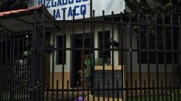 Lawyers Make History: A courthouse in Concepción de Ataco, El Salvador. Photo credit: Lori Tripoli.