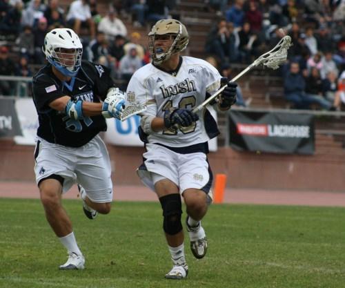 NCAA Men's Lacrosse: Notre Dame Men's Lacrosse Defeats ...