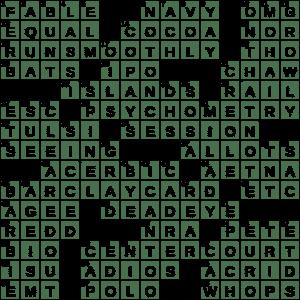 la times crossword 12 aug 20 wednesday