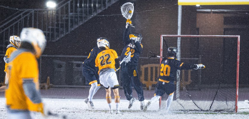 lacrosse goalie gloves banner