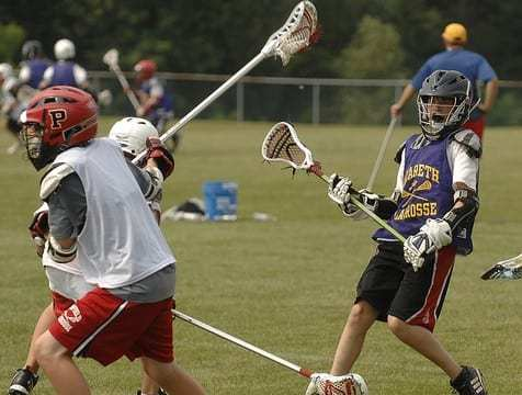 lacrosse short field practice game
