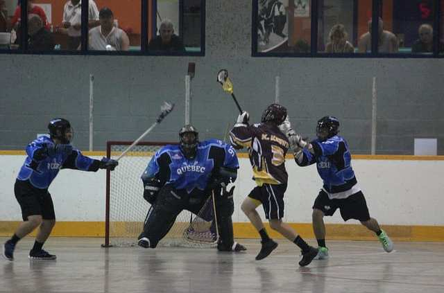 box lacrosse star passing shooting pregame warm-up practice drill