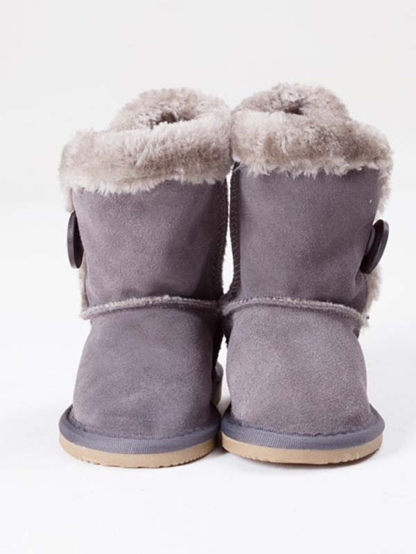 Bailey Button Boots Grey