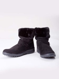 Buckled Boots Black