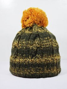 Winter Hat Stripe Color Mix 001-100D