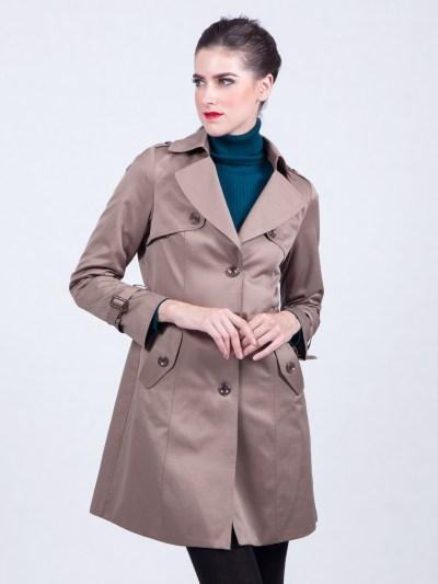 Parachute Belted Beige Coat