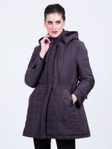Overcoat Women Warm Brown