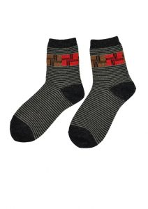 Magic Stripes Sock Pattern 007-158 (3)