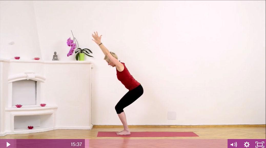 [Yoga-Video]: Das Wurzelchakra stärken