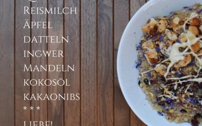 Auf Engelsflügeln durch den Tag: Quinoa-Porridge á la S.