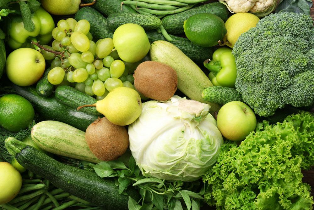 Grüne Diät entlastet die Leber