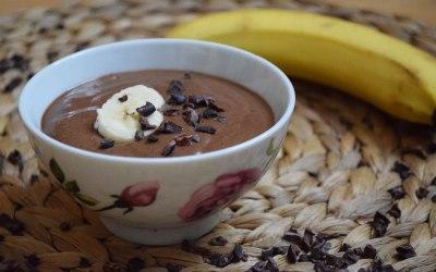 Wake up! Köstliche Kaffee-Bananencreme