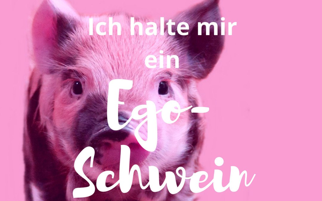 [Mindset Quickie:] Ich halte mir ein Ego-Schwein