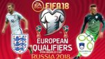 FIFA World Cup 2018 Qualifer: Slovenia vs England