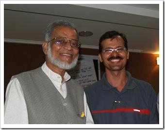 With Adil mansuri