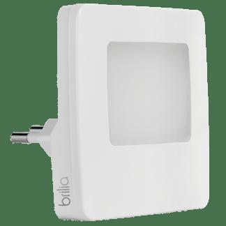 432624 - Luz Noturna LED com Sensor de Luminosidade - Quadrada - Brilia