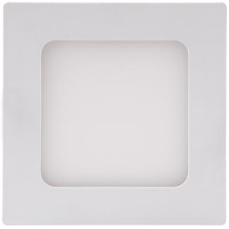 432952, 432969, 434345 438206 - Luminária Painel Quadrado de Embutir - 12CM - 3000K - Brilia