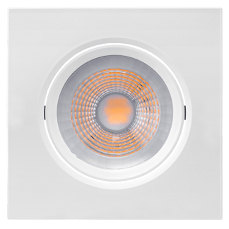 Luminária LED Downlight Orientável PAR20 - 7W - 2700K/6500k - Brilia