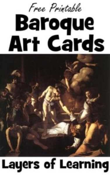 Printable-Baroque-Art-Cards