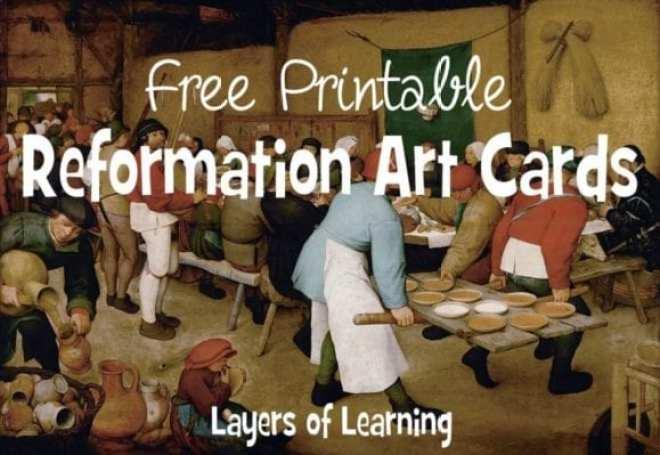Reformation art cards