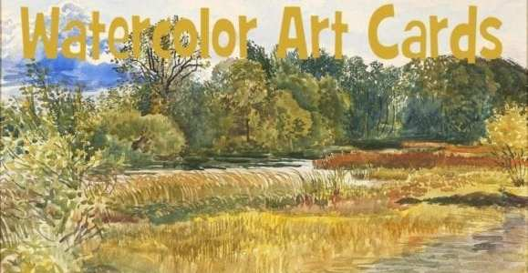 Watercolor Art Cards