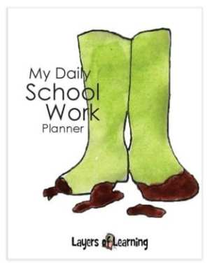 Early Grades Student Planner