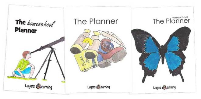 middle grades planner covers