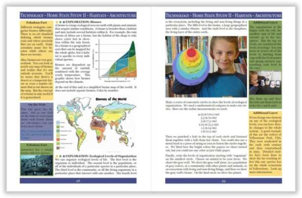 Layers of Learning Unit 4-19 sample pages