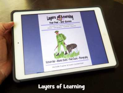 How to Use a Tablet With Layers of Learning Units