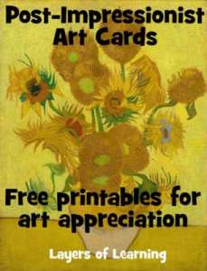 Post-Impressionist Art Cards