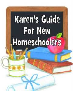 Join Karen, the little sister in the Layers of Learning duo, as she gets you started on the rght foot in her Guide for New Homeschoolers