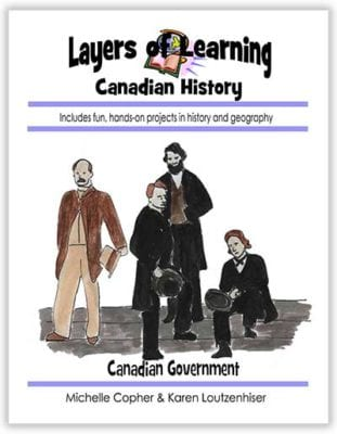 Canadian Government unit from Layers of Learning