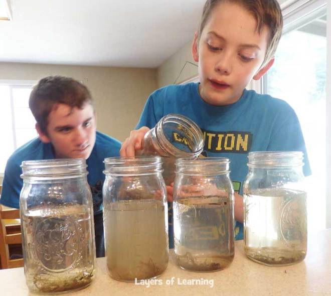 Add various pollutants to jars of pond water.  Observe how the pollutants affect the algae growth.