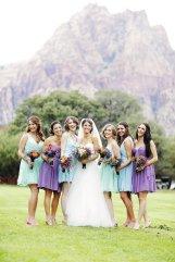 Bridal party at Spring Mt. Ranch