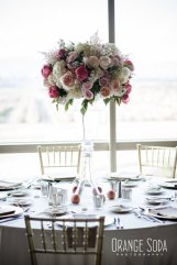 M Resort wedding coordinated by Scheme Events, Florals by Layers of Lovely, Photography by Orange Soda Photo, Paper Goods by She Paperie