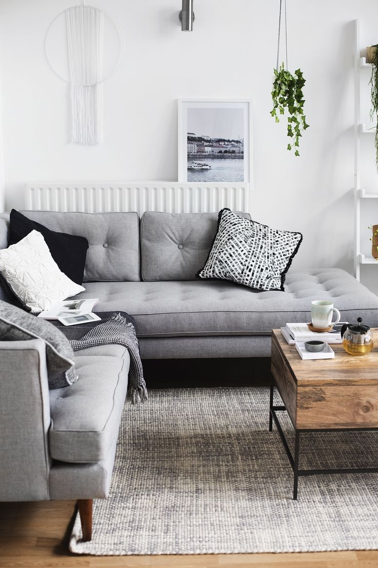 Living Room Layout And Decor Rooms In Grey Couch Decorating Ideas Layjao