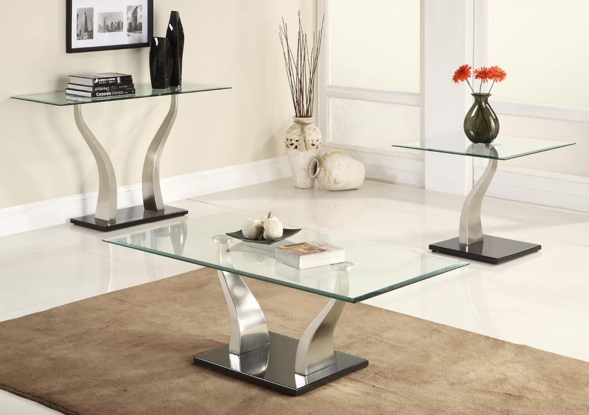 table big coffee tables black and glass