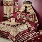 Modern Red Comforter Sets With Curtains Of Interesting Comforter Layjao